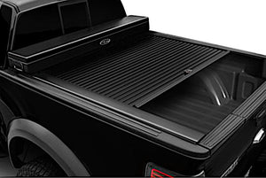 TRUCK COVERS USA® | CRJR263WHITE American Work Jr. Tool Box Hard Retractable Metal Tonneau Cover - myTonneau