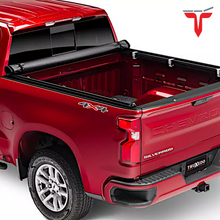 "Load image into Gallery viewer, TruXedo TruXport® 272401 Soft Roll Up Truck Bed Tonneau Cover | Fits 2019 - 2020 New Body Style GMC Sierra & Chevrolet Silverado 1500 (Will not fit Carbon Pro Bed) 5'8"" bed"