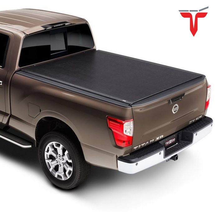 TruXedo Lo Pro 597301 Soft Roll Up Truck Bed Tonneau Cover | Fits 16-20 Nissan Titan with or w/o Track System 5'6