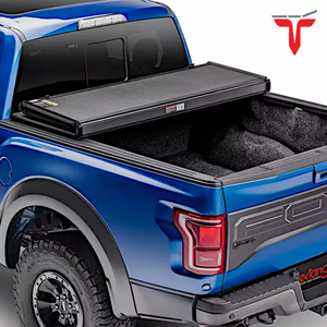 "EXTANG 83445 SOLID FOLD 2.0 Hard Folding Truck Bed Tonneau Cover | Fits 2014-18, 19 Legacy Chevy/GMC Silverado/Sierra 1500 5'8"" Bed"