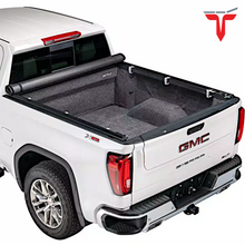 "Load image into Gallery viewer, TruXedo TruXport® 271801 Soft Roll Up Truck Bed Tonneau Cover | Fits 14-18, 2019 Limited/Legacy GMC Sierra & Chevrolet Silverado 1500 5'8"" bed"