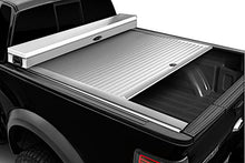 Load image into Gallery viewer, TRUCK COVERS USA® | CRJR402WHITE American Work Jr. Tool Box Hard Retractable Metal Tonneau Cover - myTonneau