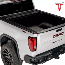 "Load image into Gallery viewer, RETRAX™ 60243 RetraxONE MX Retractable Truck Bed Tonneau Cover | Fits 2019-2020 New Body Style (6 lugs) Dodge RAM 1500 5' 7"" Bed (WILL NOT WORK WITH MULTIFUNCTION TAILGATE 5' 5"" Bed)"