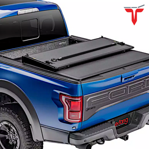 "EXTANG 62480 ENCORE Hard Folding Truck Bed Tonneau Cover | Fits 2015-20 Ford F150 6'6"" Bed"