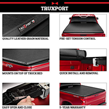 Load image into Gallery viewer, TruXedo TruXport® 209001 Soft Roll Up Truck Bed Tonneau Cover | Fits 16-20 Nissan Titan w/o Track System 8' bed