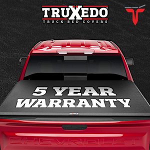 "TruXedo TruXport® 272401 Soft Roll Up Truck Bed Tonneau Cover | Fits 2019 - 2020 New Body Style GMC Sierra & Chevrolet Silverado 1500 (Will not fit Carbon Pro Bed) 5'8"" bed"
