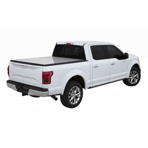 LOMAX Professional Series Hard Tri-Fold Cover for 2004-2018 Ford F-150 6ft. 6in. Box (except Heritage)