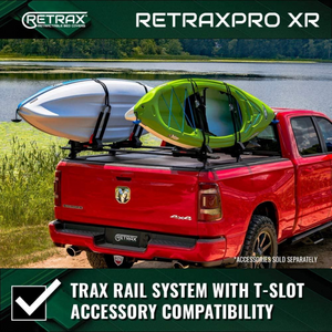 "RETRAX™ 60243 RetraxONE MX Retractable Truck Bed Tonneau Cover | Fits 2019-2020 New Body Style (6 lugs) Dodge RAM 1500 5' 7"" Bed (WILL NOT WORK WITH MULTIFUNCTION TAILGATE 5' 5"" Bed)"