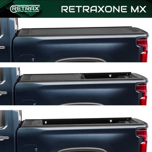 "RETRAX™ 60481 RetraxONE MX Retractable Truck Bed Tonneau Cover | Fits 2019-2020 New Body Style Chevy Silverado & GMC Sierra 1500 (Not Compatible w/Carbon Pro Bed or Factory Side Storage Boxes) 5' 8"" Bed"