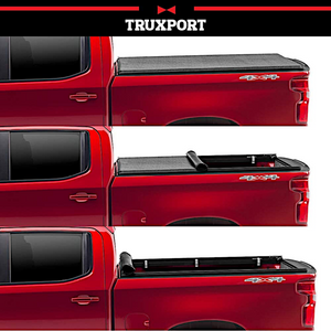 "TruXedo TruXport® 286901 Soft Roll Up Truck Bed Tonneau Cover | Fits 2019 - 2020 New Body Style Ram 1500 with or without Multi-Fucntion (Split) Tailgate 6'4"" bed"