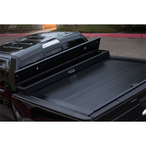 TRUCK COVERS USA® | CRJR304XB American Work Jr. Tool XBox Line-X Hard Retractable Metal Tonneau Cover CRJR304XBOX - myTonneau
