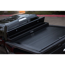 Load image into Gallery viewer, TRUCK COVERS USA® | CRJR201 American Work Jr. Tool Box Hard Retractable Metal Tonneau Cover - myTonneau