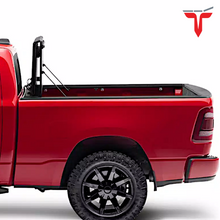 "Load image into Gallery viewer, EXTANG™ Xceed 85457 Hard Folding Truck Bed Tonneau Cover | Fits 2019-20 Chevy/GMC Silverado/Sierra 1500, ""New Body Style"" (does not fit with factory side storage boxes) 6'6"" Bed"