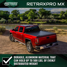 "Load image into Gallery viewer, RETRAX 80852 RetraxPRO MX Retractable Truck Bed Tonneau Cover | Fits 2016-2020 Tacoma Regular, Access & Double Cab 6' 1"" Bed"