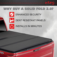 Load image into Gallery viewer, EXTANG 83485 SOLID FOLD 2.0 Hard Folding Truck Bed Tonneau Cover | Fits 2015-20 Ford F150 8' Bed