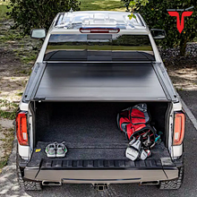 "Load image into Gallery viewer, RETRAX™ 60481 RetraxONE MX Retractable Truck Bed Tonneau Cover | Fits 2019-2020 New Body Style Chevy Silverado & GMC Sierra 1500 (Not Compatible w/Carbon Pro Bed or Factory Side Storage Boxes) 5' 8"" Bed"