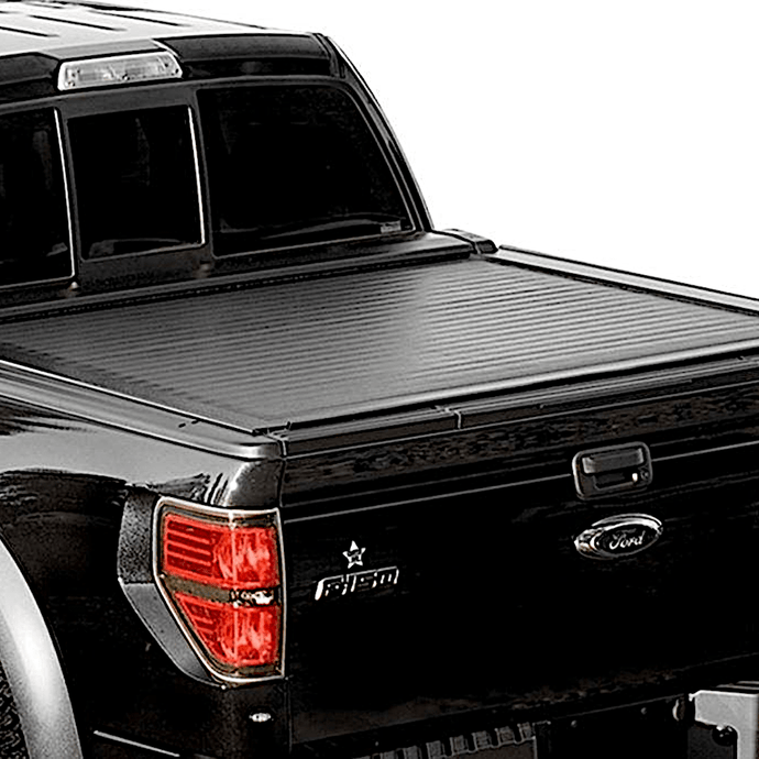 Pace Edwards by Leer® Switchblade Metal Hard Retractable Manual Tonneau Cover Pace Edwards by Leer Retractable - myTonneau