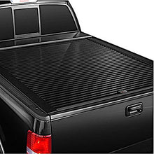 Load image into Gallery viewer, TRUCK COVERS USA® | CR401WHITE American Roll Hard Retractable Metal Tonneau Cover - myTonneau