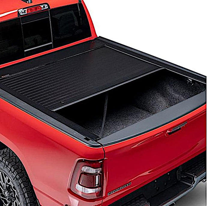 Pace Edwards by Leer® JackRabbit Full Metal Retractable Manual Tonneau Cover Pace Edwards by Leer Retractable - myTonneau