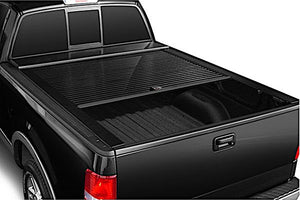 TRUCK COVERS USA® | CR303WHITE American Roll Hard Retractable Metal Tonneau Cover - myTonneau
