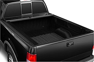 TRUCK COVERS USA® | CR403MT American Roll Hard Retractable Metal Tonneau Cover - myTonneau