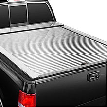 Load image into Gallery viewer, TRUCK COVERS USA® | CR505MT American Roll Cover Retractable Metal Tonneau Cover - myTonneau