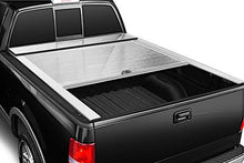Load image into Gallery viewer, TRUCK COVERS USA® | CR303WHITE American Roll Hard Retractable Metal Tonneau Cover - myTonneau