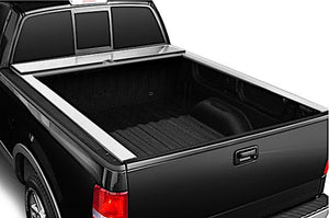 TRUCK COVERS USA® | CR243 American Roll Hard Retractable Metal Tonneau Cover - myTonneau