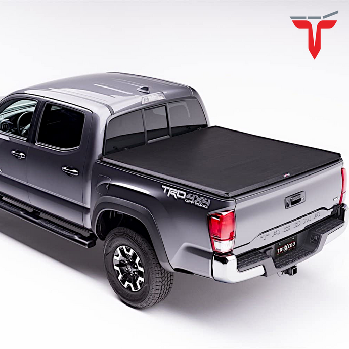 TruXedo TruXport® 209101 Soft Roll Up Truck Bed Tonneau Cover | Fits 16-20 Nissan Titan w/Track System 8' bed