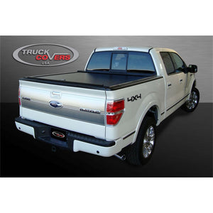 TRUCK COVERS USA® | CR544 American Roll Cover Retractable Metal Tonneau Cover - myTonneau