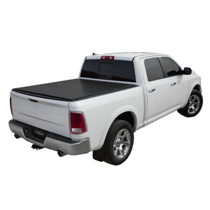 LOMAX Hard Tri-Fold Cover for 2002-2010 Dodge Ram 1500/2500/3500 and 2011-2018 Ram 1500/2500/3500 6ft. 4in. Box (without RamBox Cargo Management System)