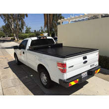 Load image into Gallery viewer, TRUCK COVERS USA® | CRT404 American Work Tool Box Hard Retractable Manual Tonneau Cover - myTonneau