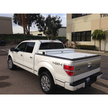 Load image into Gallery viewer, TRUCK COVERS USA® | CRJR302WHITE American Work Jr. Tool Box Hard Retractable Metal Tonneau Cover - myTonneau
