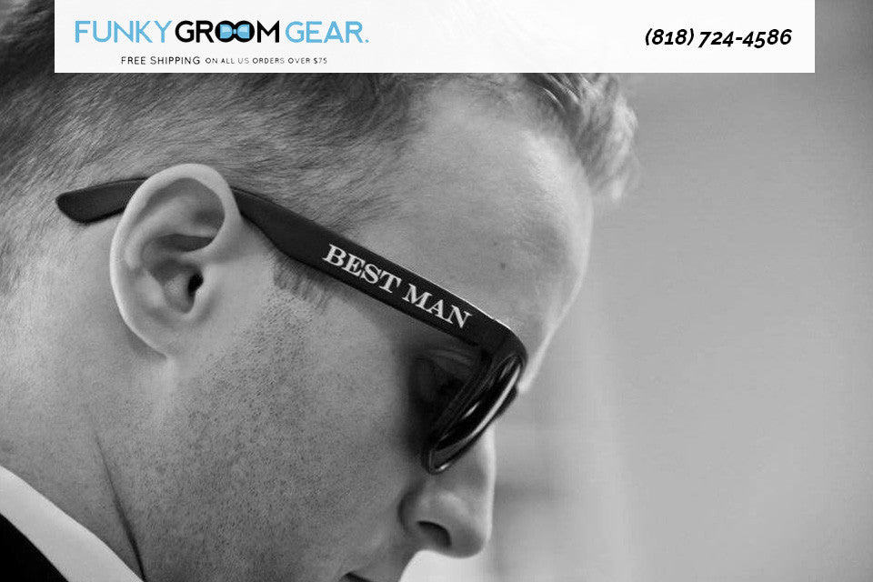 Boy, do You Need These Groomsmen Sunglasses!