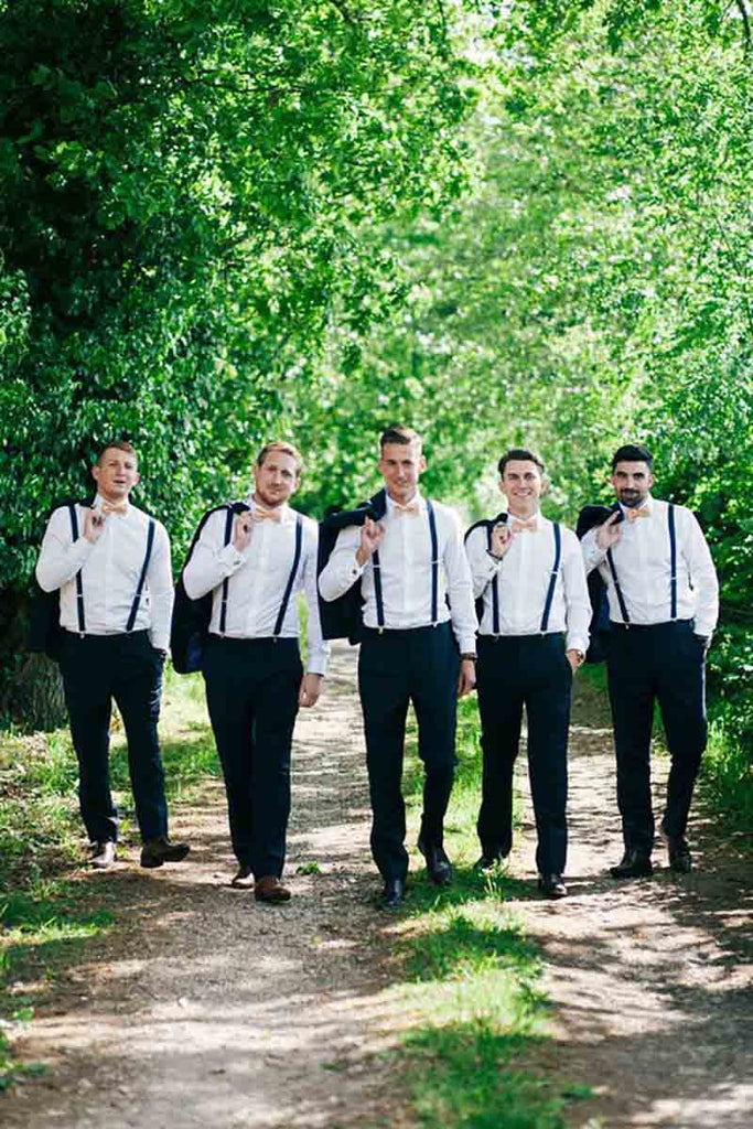 Create Standout Pictures with Fun Groomsmen Socks