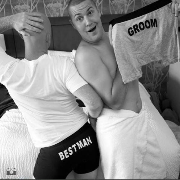Make the Day Fun – Wear Groom Boxer Briefs!