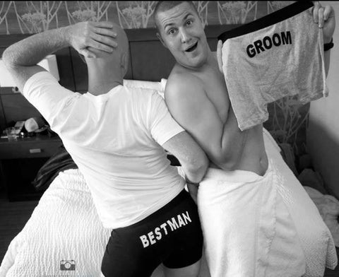 Groom Boxer Briefs