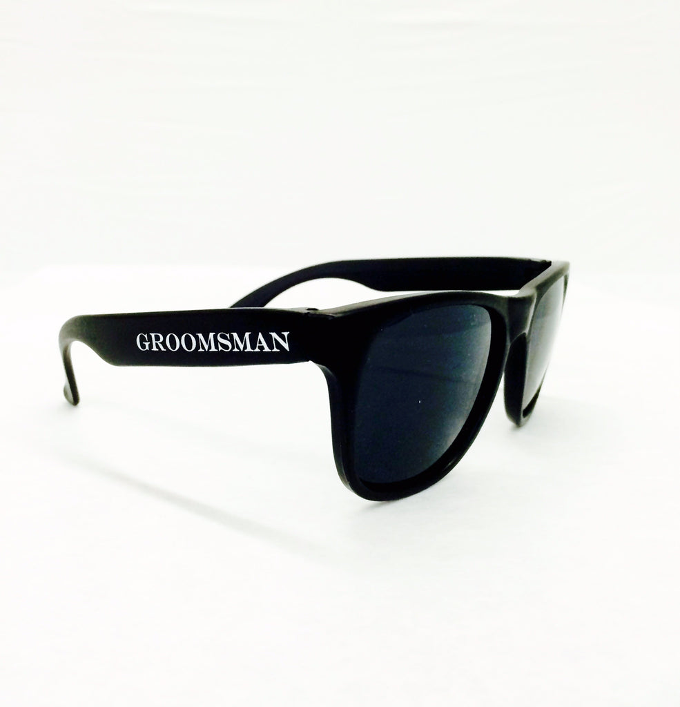 e7d248d6e9 Groomsman Wedding Sunglasses   Groomsmen Sunglasses – Funky Groom Gear
