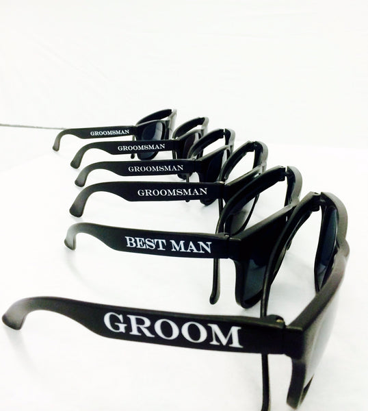 Groom Printed Party Sunglasses