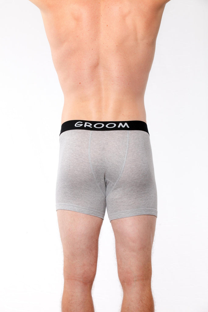 Groom Elastic Boxer Briefs