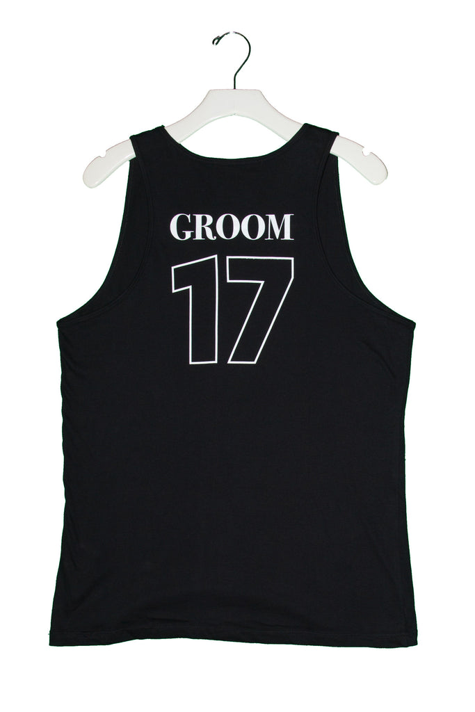 "Groom Tank Top ""Jersey"""