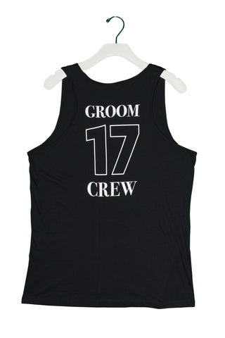 "Groom Crew Tank Top ""Jersey"""