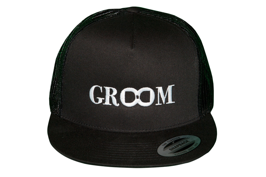 Groom Snap-Back Trucker