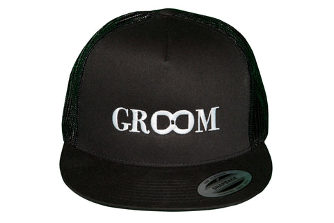 Groom Snap-Back Trucker Hat