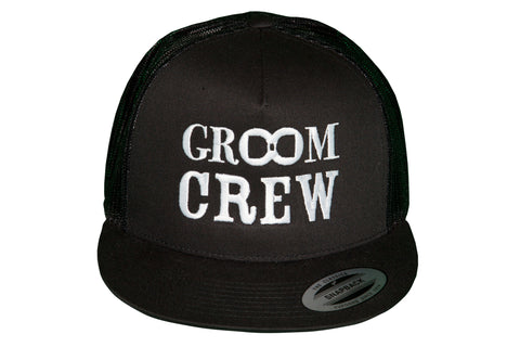 Groom Crew Snap-Back Trucker Hat