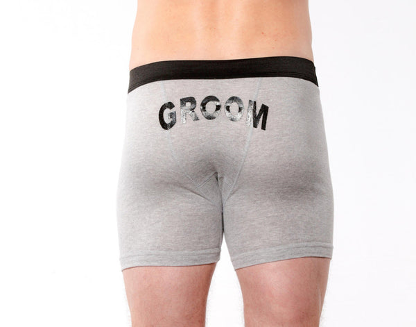 Groom Printed Boxer Briefs