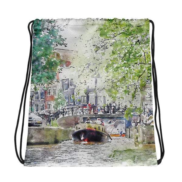 Amsterdam Drawstring Bag