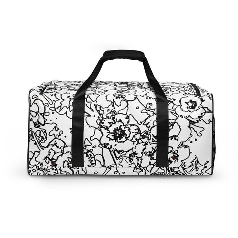 Rock Roses 2 Duffle Bag