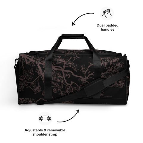 Rosa Branches Duffle Bag