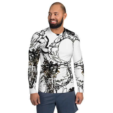 Japanese Anemones Men's Rash Guard